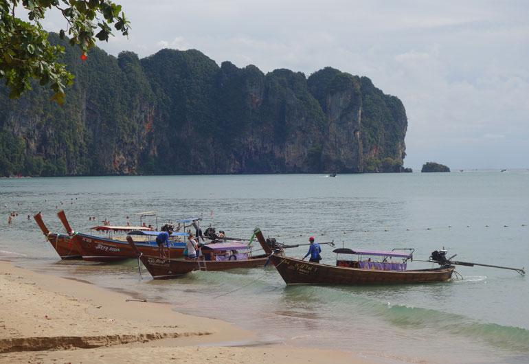 Die Provinz Krabi - Ao Nang, Krabi-Town und Railay Beach