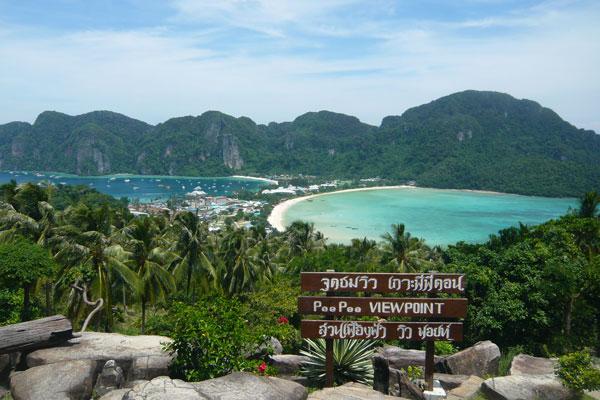 """Koh Phi Phi Island und der Strand aus dem Film """"The Beach"""""""