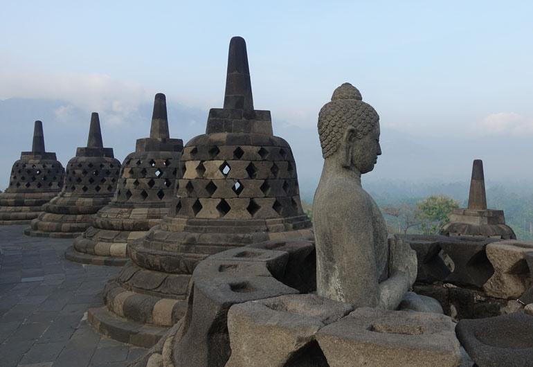 Borobudur - Das bedeutendste buddhistische Bauwerk in Indonesien