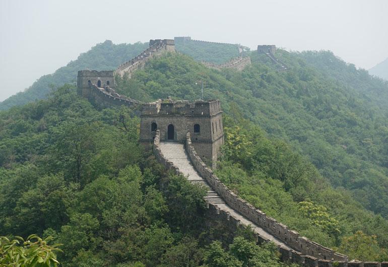 Tagesausflug zur Chinesischen Mauer - Mutianyu vs. Badaling