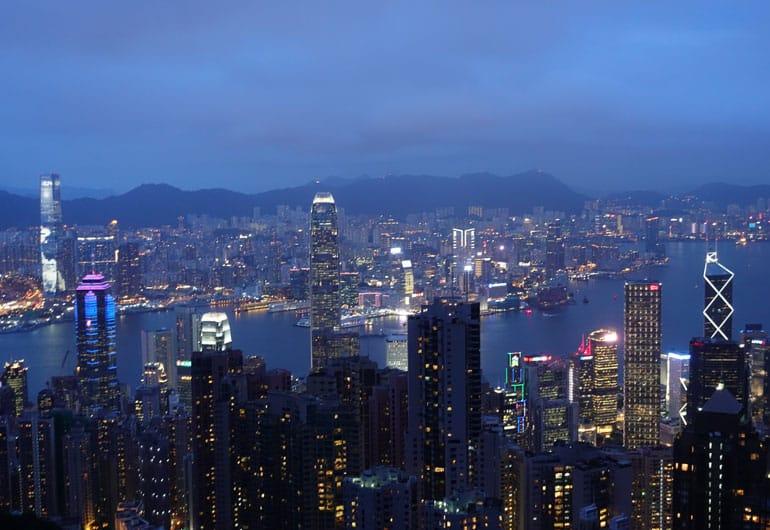 Hongkong - Die Stadt der Wolkenkratzer