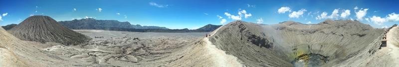 Unser Tagestrip zum Mount Bromo von Probolinggo in Indonesien