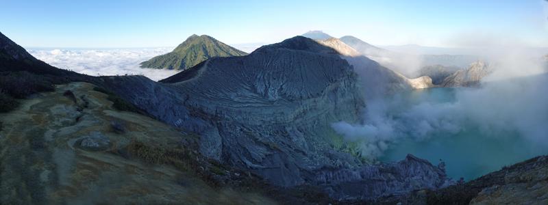 Mount Ijen - Unsere Tour zum blauen Feuer auf Java