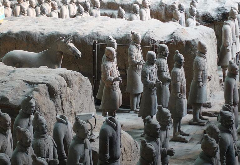 Die Terrakotta Armee in Xian - Ein Highlight deiner Chinareise?