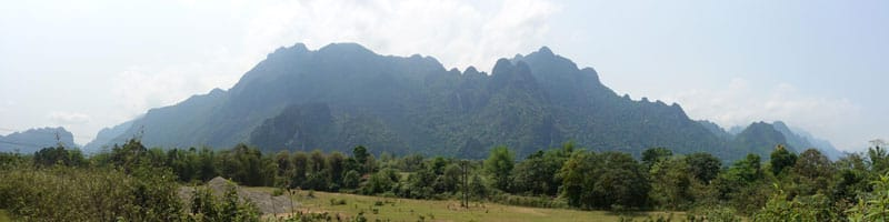 Vang Vieng – die verblasste Partystadt Laos